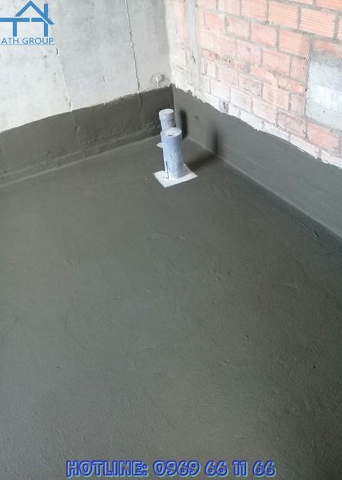 Quicseal 104 ứng dụng chống thấm cho các khu vực không lộ thiên như tầng hầm, hố thang máy, bể chứa nước, hồ chứa...