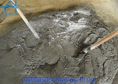 Lớp vữa có trộn phụ gia Quicseal 609 sau khi đóng rắn có khả năng chống thấm, hóa chất nhẹ và ảnh hưởng của thời tiết