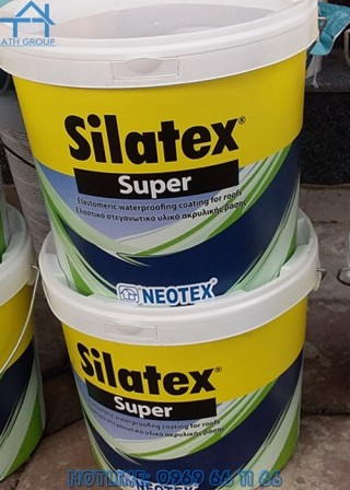 SILATEX SUPER - Chống thấm gốc Acrylic